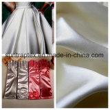 Stof van het Satijn van het Gewicht van de polyester de Hoge voor de Kleding van het Huwelijk