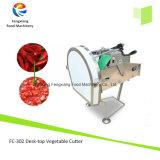 FC-302デスクトップの電気葉菜の青ネギ、コショウ、バナナはカッターの打抜き機、唐辛子のカッターを欠く
