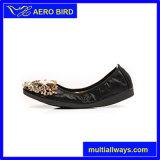 Пчел яркий Rhinestion женщина стиле плоскую обувь