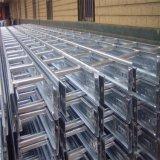 Bandejas de cabo galvanizadas perfuradas da bandeja de cabo com tampa