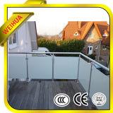 Escadas da segurança/cerca vidro laminado da associação/jardim/balcão com Ce, CCC, ISO9001