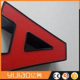 Muestra de acrílico del LED de canal de las cartas de las señalizaciones de la visualización por encargo LED de la publicidad comercial