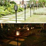 Светодиодный светильник фонарь освещения на лужайке солнечного света в саду