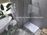 Душ двери с большими латунными ролики и 8мм очистить стекло