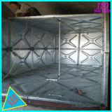 O tanque de água galvanizado com Gi placa transversal