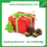 Тесемка Shinny коробка бумажного подарка упаковывая