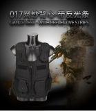 Taktische Netz-Garn-Rückseite der Weste-017 mit Reflektorstreifen Molle Breathable justierbarer MilitärAirsoft im Freienjagd-Kleidung