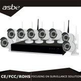 cámaras de seguridad sin hilos del CCTV del kit de la cámara NVR del IP de 720p 8CH WiFi
