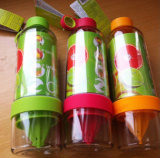 Творческий дизайн портативных пластиковый ручной фруктовый сок лимона чашки чашки