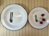Commercio all'ingrosso di campeggio del piatto dello smalto