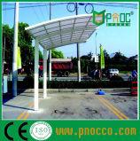 Das Aluminuim Zelle-Polycarbonat-Dach, das Parken bekanntmacht, verschüttet (164CPT)