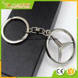 Großverkauf personifizierte die Hersteller, die preiswertes Großhandelsmassenform-Metallkundenspezifisches Auto-Marken-Firmenzeichen Keychain für Benz gebildet wurden