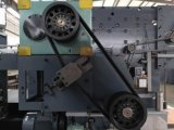 Halbautomatischer gewölbter Kasten-stempelschneidene Maschine mit Doubel Registrierung