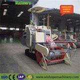 Wishope 4lz-2.2の自動穀物タンクコンバイン収穫機