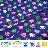 Cobertor polar do Throw do velo das cópias do competidor da pata do filhote de cachorro do preço de fábrica de Advange