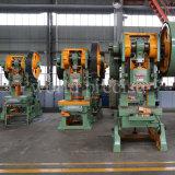 Metal de folha fazendo à máquina da imprensa de potência mecânica 125t das peças J23 que carimba a máquina de perfuração