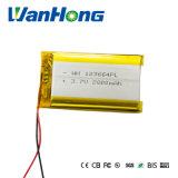 batteria del polimero di 123664pl 3.7V 2800mAh Li per la macchina fotografica di percorso di PDA