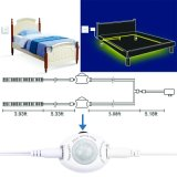 Le SMD3528 sous le lit du capteur de mouvement d'éclairage de nuit 12V lit de capteur intelligent de lumière Les bandes de 2 LED