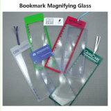 Увеличивать листа Fresnel увеличителя Bookmark Hw805 190*66mm малый - стеклянным логос чтения подгонянный объективом