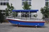 Bateau de pêche de bateau de fibre de verre de passager de Liya 5.8m à vendre