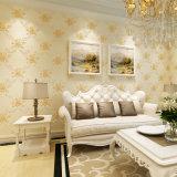 2017 roulis d'étage de PVC, papier de mur, PVC Wallcovering, décor de mur, tissu de mur de PVC, papier peint de PVC