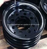 Стальной обод промышленных вилочных погрузчиков (5.00S-12) для Tmc, Toyota, Йельском, Nissian Hyster,