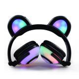 Cuffie eccessive pieghevoli del panda di incandescenza LED dell'orecchio di Linx del nuovo modello