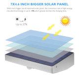48 l'éclairage extérieur IP65 de mouvement de DEL 760lm de détecteur de garantie solaire de lumière imperméabilisent la lumière solaire sèche sans fil de mur de jardin
