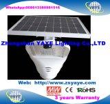 Yaye 18 Ce/RoHS/3 Jahre der Garantie-im Freien 150W integrierte LED Solarstraßenlaterne-Lampen-mit Ferncontroller u. Bewegungs-Fühler