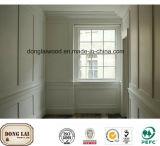 Panneau de mur en bois de garniture de l'usine S4s de la Chine