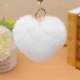 Catena chiave della pelliccia genuina del coniglio/ornamenti per i cappelli & Bags&Garments