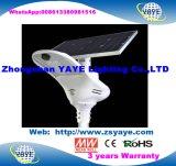 Yaye 18 Ce/RoHS 3 Jahre der Garantie-im Freien 200W integrierte LED Solarstraßenlaterne-Lampen-mit Ferncontroller u. Bewegungs-Fühler