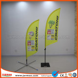 Impression double face polyester Beach Flag Banner