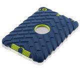 El caucho de silicona Three-Proof PC Tablet ARMOR Case para iPad