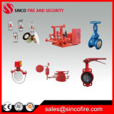 La protección contra incendios con acabado cromado con rociadores para el sistema de rociadores contra incendios
