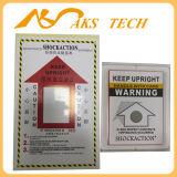 Ярлык наклона упаковки монитора перехода индикатора вахты