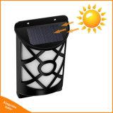 El baile de la luz solar llama 66 parpadeo LED impermeable al aire libre jardín vallado Lampara de pared