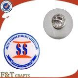 Divisa de encargo del metal del Pin de la solapa de la impresión de la promoción con el epóxido