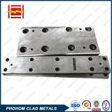 En acier inoxydable personnalisés/cuivre/aluminium /Plaques de revêtement nickel titane /