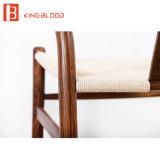 Silla de madera de la rota Y de la rota de la silla del hueso de la ceniza de madera al aire libre de la silla