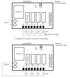 AC220V Беспроводной РЧ ПДУ переключатель вкл./выкл. Kl-K411
