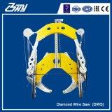 Le fil hydraulique de diamant la machine de découpage concrète a vu/pipe - DWS3052
