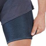Soporte de muslo ajustable de la paréntesis del muslo del neopreno del fuerte apoyo