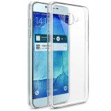 100% confirmado transparente TPU Bumper cubierta para Samsung Galaxy R7 de 2017 Caso