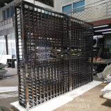 Estante de visualización del vino del acero inoxidable de la fábrica 304 de Foshan con final negro del espejo