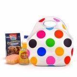 メスの女性の女性の肩のハンドバッグのランチボックスの小さいお弁当箱熱涼しい袋の子供のためのネオプレンによって絶縁されるオフィスの昼食袋