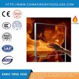 Vidrio resistente al fuego monolítico ininflamable teñido Tempered multiforme