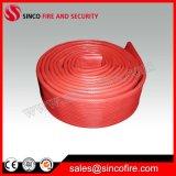 """1-1/2 """" mangueira de incêndio vermelha interna/exterior da borracha sintética"""