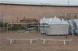 Seguridad del Tráfico de metal barrera multitud temporal