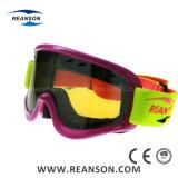 Cylindrycle double lentille robuste résistant à la rupture des lunettes de ski
